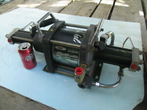 Haskel Pneumatic 2 stage Gas Booster Pump agt 15 30