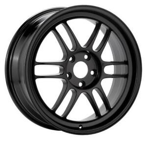 Enkei Rpf1 17x9 5x114 3 45mm Offset Gloss Black Single Wheel New