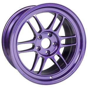 Enkei Rpf1 18x9 5 5x114 3 38mm Offset Purple Single Wheel New