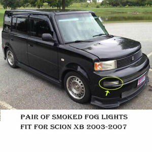 Smoked Fog Lights Lamps For 2003 2004 2007 Scion Xb White Smd 5x Led Drl Light