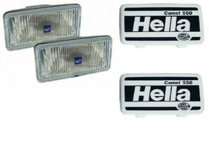 Land Rover Defender 87 06 Rr Classic 87 95 Rectangular Fog Lights Pair Rtc8922