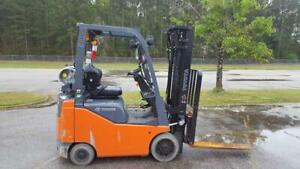 2014 Toyota 8fgcu15 Forklift Truck 189 With Side Shift