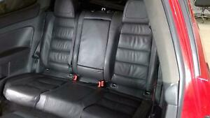 06 09 Vw Gti r32 2 Door Anthracite Leather Rear Seat Assembly top And Bottom