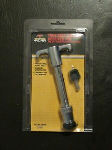 Locking Hitch Pin W 2 Keys Cover Truck Trailer Receiver Hitch 5 8 Universal