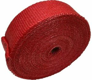 Red Exhaust Heat Wrap 2 00 X 50ft Roll For Any Exhaust Wesdon Wrap