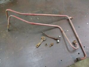 Ih Farmall 706 756 Gas Hydraulic Oil Cooler Lines Antique Tractor