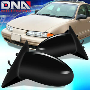 For 1999 2001 Oldsmobile Alero Pair Oe Style Manual Side Door Mirror Replacement