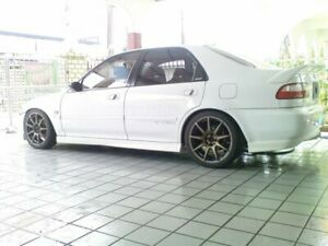 Spoiler Drag Vip Wing Ducktail For Jdm Civic Eg Eg9 Eg8 Ferio Sir Vti Sedan 4dr
