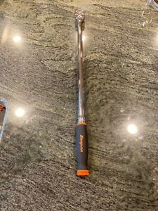 Snap On shll80a Orange 1 2 Drive Soft Grip Extra Long Handle Ratchet New