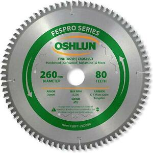 Oshlun Fespro Crosscut Atb Saw Blade With Arbor For Festool Kapex
