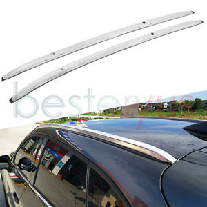Us Stock Silver Roof Rack Rails For Mazda Cx 3 Cx3 2016 2020 Luggage Carrier