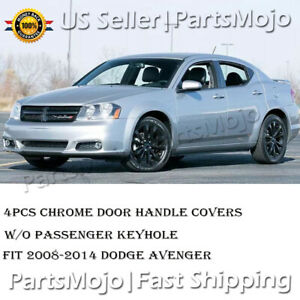 Chrome Door Handle Covers For Dodge Avenger 2008 2009 2010 2011 2012 2013 2014