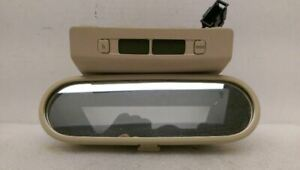 Rear View Mirror With Digital Clock Fits 02 05 Beetle 272937