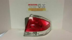 Passenger Tail Light Sedan Bright Chrome Trim Fits 08 11 Focus 179524