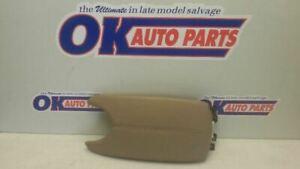 14 18 Cadillac Ats Center Floor Console Arm Rest Lid Only Tan Leather