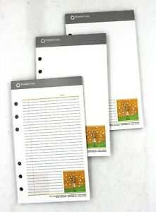 Lot Of 3 Franklin Covey Pad Lined Compact Notepad Date 7 1 4 L X 4 1 4