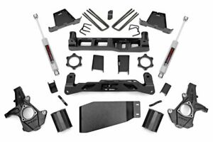 07 13 Chevy Silverado Gmc Sierra 1500 4wd 7 5 Rough Country Suspension Lift Kit