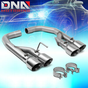 For 2018 2020 Ford Mustang 5 0l Ss 4 od Muffler Tips Axle back Catback Exhaust
