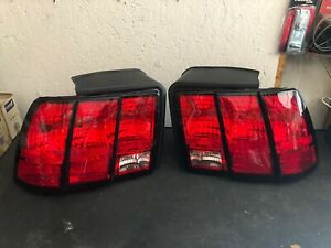 1999 2004 Ford Mustang Gt Taillights Tail Lamps Driver Passenger Lh rh Oem