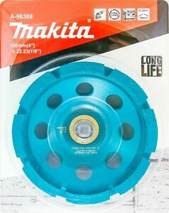 Makita 1 Pack 4 Diamond Cup Wheel For 4 5 Grinders Aggressive Low Vibr