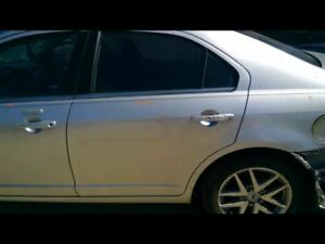 Driver Rear Side Door Without Side Moulding Holes Fits 06 12 Fusion 28004
