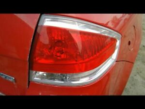 Passenger Tail Light Sedan Bright Chrome Trim Fits 08 11 Focus 28753