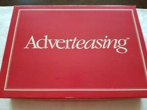 Adverteasing Board Game Slogans Commercials & Jingles Complete $10.00