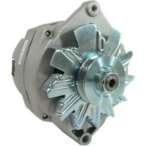 New Alternator High Output Chevy One 1 Wire 105 Amp Delco 10si Self Exciting