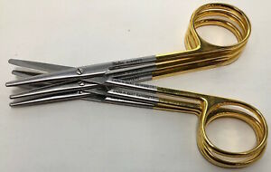 Miltex 4 Strabismus Scissors Straight O r Grade reference 5 312tc Lot Of 3