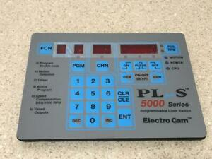 Electro Cam Programmable Limit Switch Plus 5000 Series New
