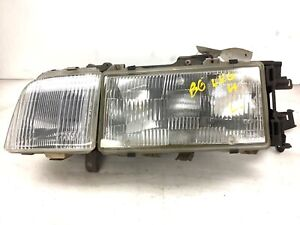 86 88 Legend 4dr Left Headlight Beam Unit Lamp Glass Light Bulb Lens Used Oem