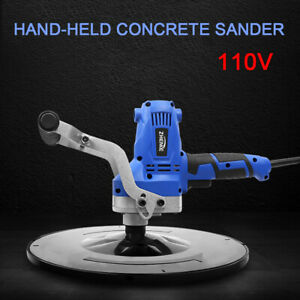 Electric Concrete Cement Mortar Trowel Wall Smoothing Machine Adjustable Speed