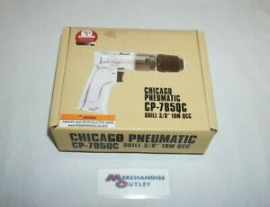 Chicago Pneumatic Drill 3 8 10m Qcc Cp 785qc