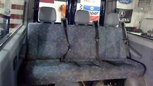 02 06 Sprinter Passenger Van 3 Person Rear Seat Assembly With Seat Belts