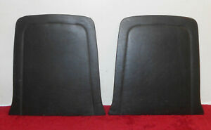 Mustang Gt Shelby Orig 1965 1966 Pony 1966 1967 Standard Black Seat Trim Panels