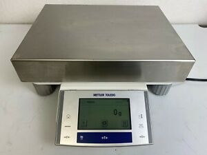 Tested Working Mettler Toledo Xs16000l Balance Scale 16 Kg 1 G Readability