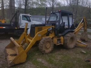 1996 Caterpillar 416b 4x4 Backhoe Loader Extend A Hoe