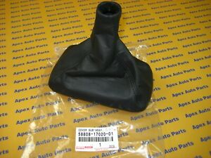 Toyota Mr2 Manual Shift Boot Leather New Genuine Oem Toyota 1991 1993 Mr 2