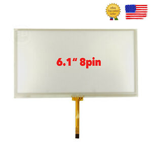 New 6 1 Touch Screen Glass Digitizer For Toyota Camry Corolla Prius 2009 2013