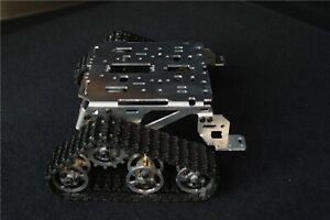 Us Metal Robot Tank Crawler Chassis Diy For Arduino Experiment Smart Car