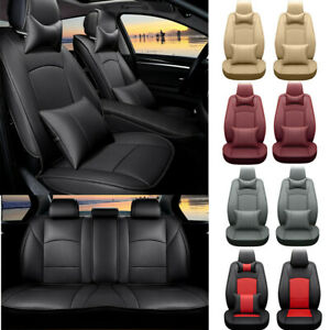 Car Seat Covers For 2007 2019 Toyota Tundra Breathable Pu Cushions Durable Mat