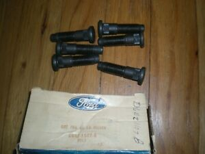 Nos 1975 1976 Ford Thunderbird Rear Wheel Bolts D6az 1107 b