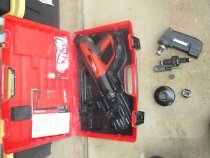 Hilti Dx 460 Mx72 F 8 F 10 Powder Actuated Nail Gun Kit Nice combo 879