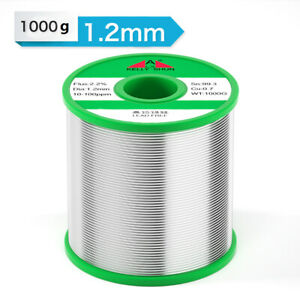 1 2mm 1000g Tin Rosin Core Solder Wire For Electrical Solderding No Lead 100ppm