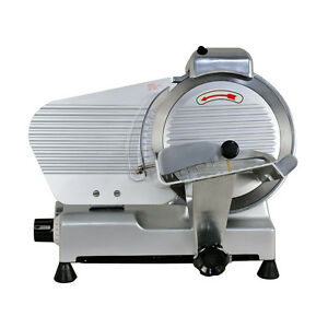 Commercial Electric Meat Slicer 10 034 Blade 240w 530 Rpm Deli Food Cutter