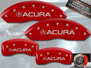 2015 2020 Acura Tlx Front Rear Red Engraved Mgp Brake Disc Caliper Covers