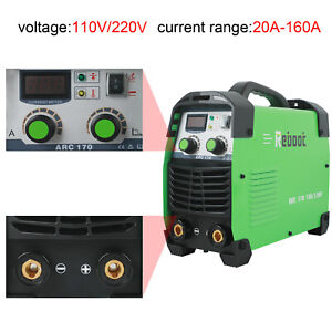 Stick Welder Arc 170 Dc 110 220v Dual Volts Stick Igbt Inverter Welding Machine