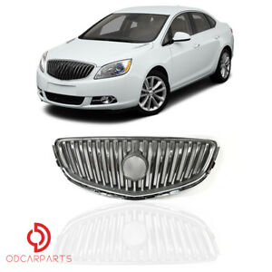 Fits 2012 2013 2014 2015 2016 2017 Buick Verano Front Upper Grille Grill Chrome