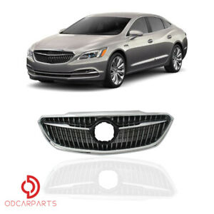 Fits 2017 2018 2019 Buick Lacrosse Seden Front Grille Grill Chrome