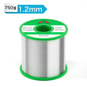 1 2mm 750g Tin Rosin Core Solder Wire For Electrical Solderding No Lead 100ppm